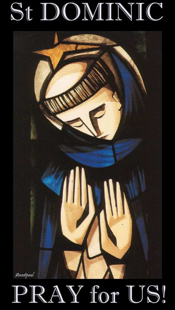 st dominic pray for us